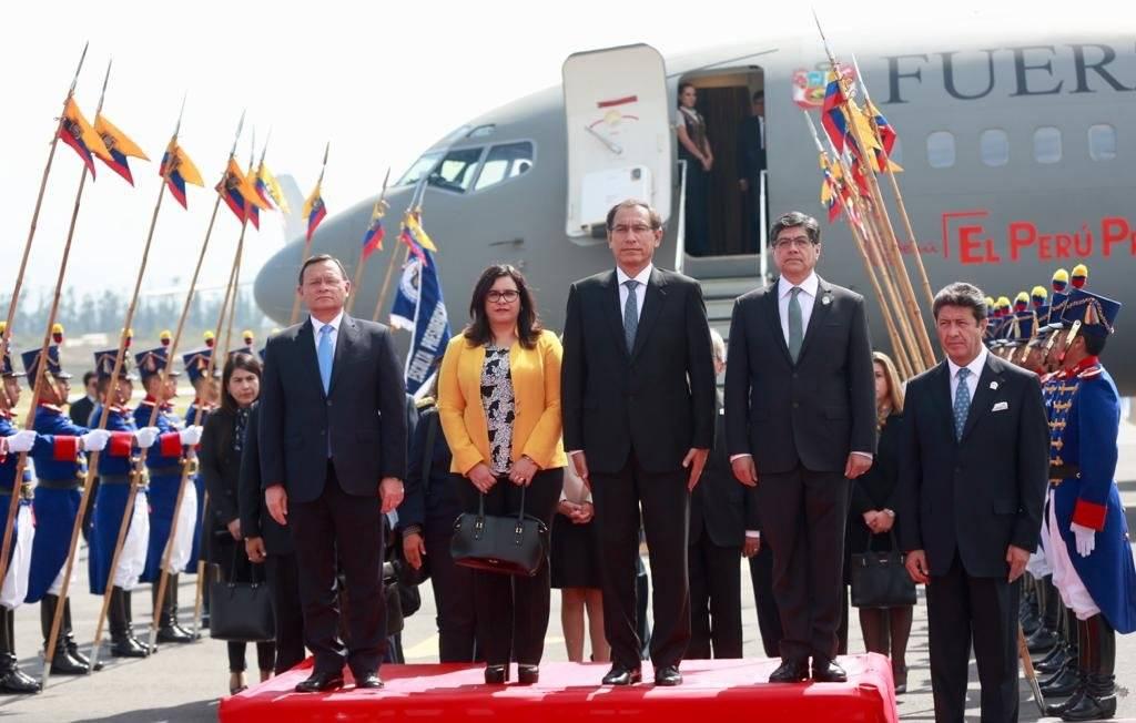 visita del presidente de Perú, Martín Vizcarra