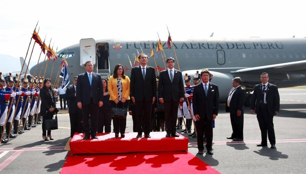 ECUADOR Y PERU REAFIRMAN COMPROMISOS DE PAZ Y AMISTAD Destacado