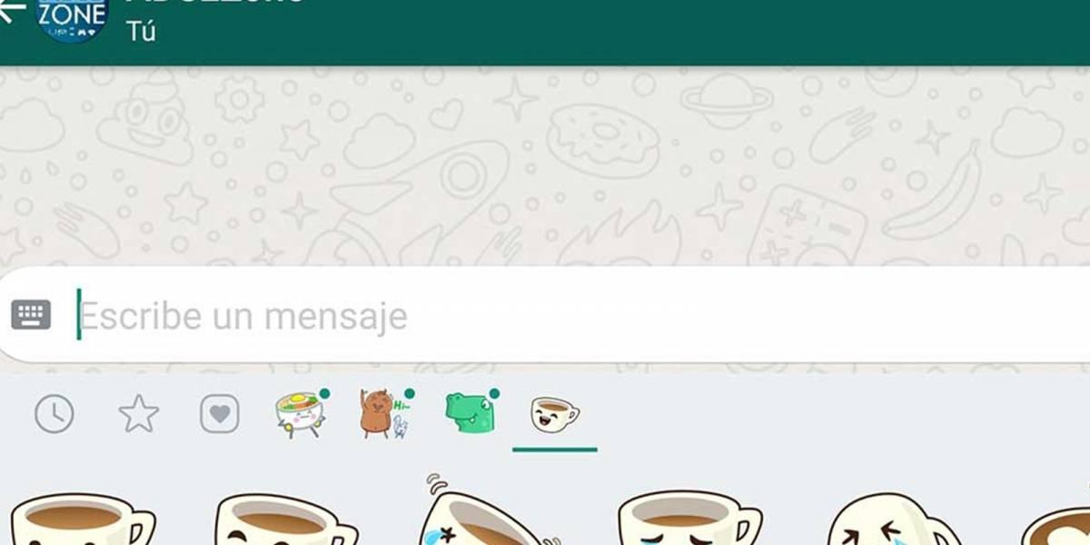 Así puedes activar los stickers que llegaron a WhatsApp para que tus chats sean más divertidos