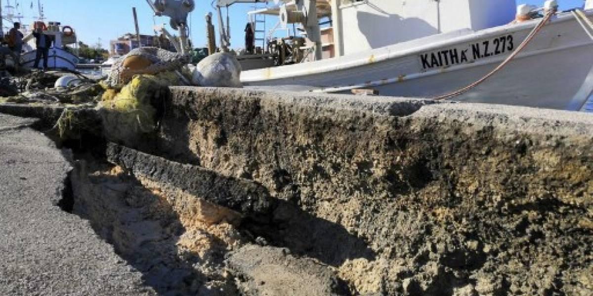 Un intenso terremoto sacude Grecia sin provocar grandes daños materiales