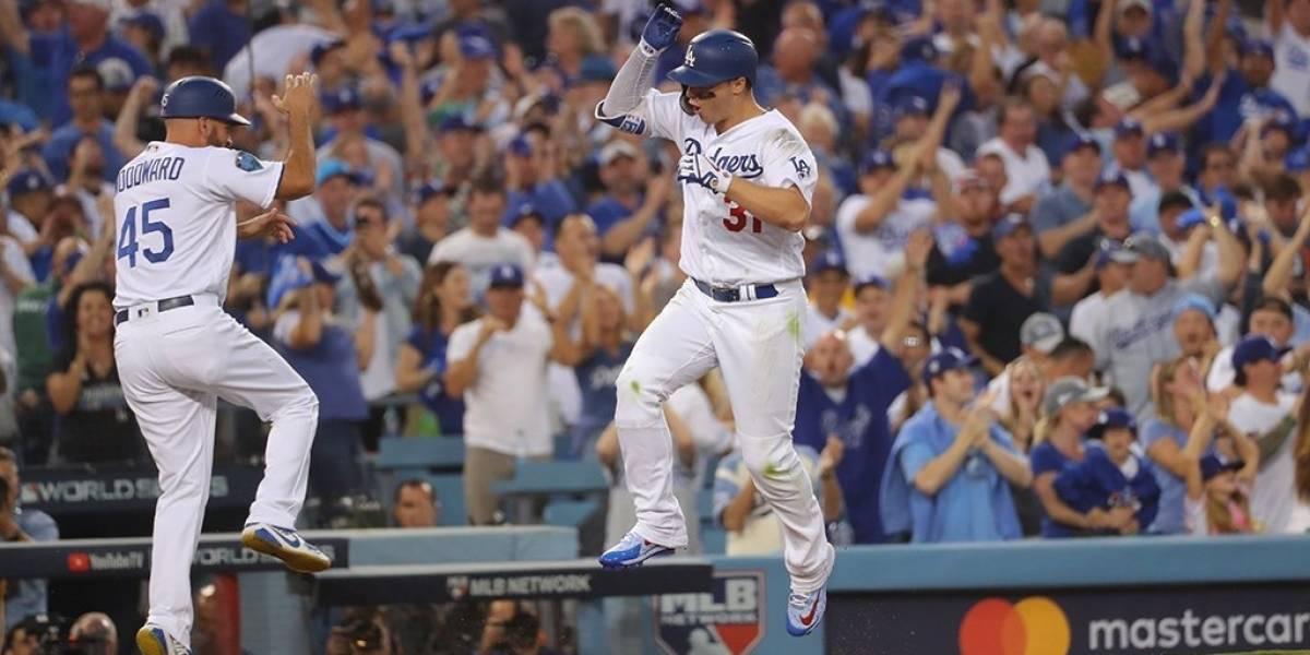 El tercer juego fue de los Dodgers gracias a jonrón de Muncy en la 18va