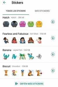 Activar Stickers WhatsApp