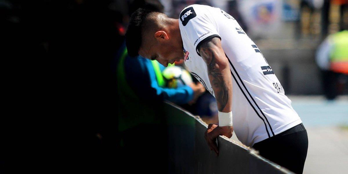 """Lucas Barrios se sigue defendiendo de las críticas: """"El colocolino de verdad me apoya, ya van a salir las buenas"""""""