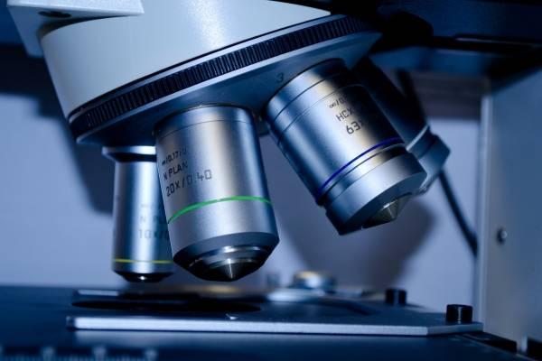 microscopio laboratorio ciencia