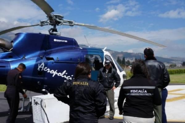 Fiscalía realizó sobrevuelo en Quito dentro del caso de Juliana Campoverde