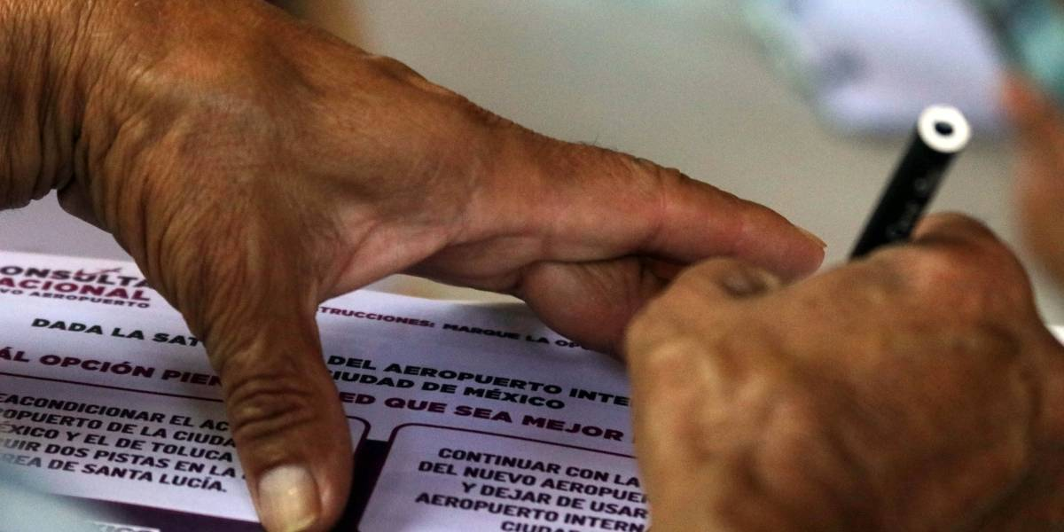 Consulta NAIM no representa a la mayoría de los mexicanos