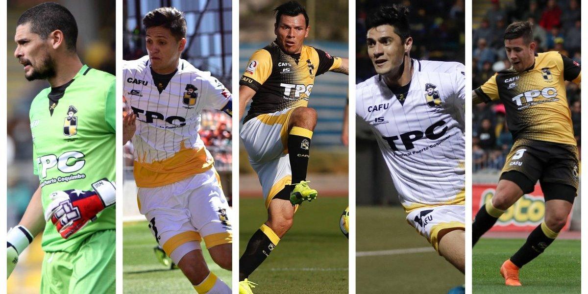 Cano, Carrasco, Yedro, Pinto y Holgado: Las figuras del campeón Coquimbo Unido en Primera B