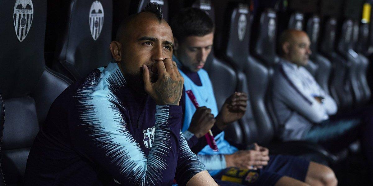 Barcelona no es para reyes: Arturo Vidal vería desde la banca el clásico ante Real Madrid