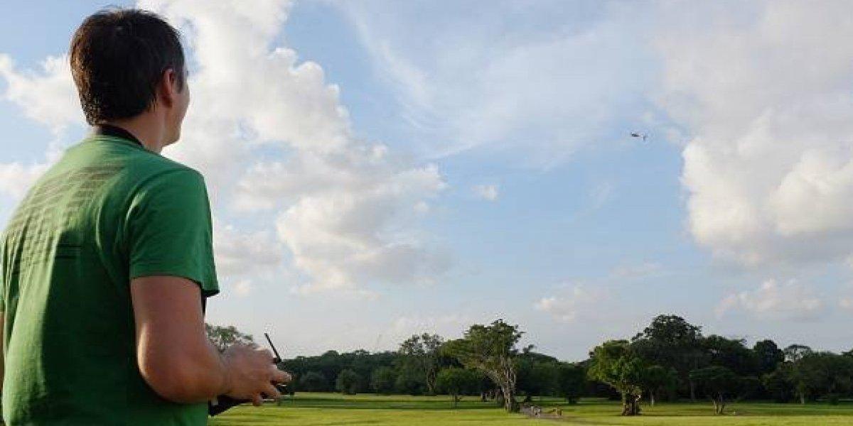 Crean el dron avispa: levanta 40 veces su peso y puede remover escombros