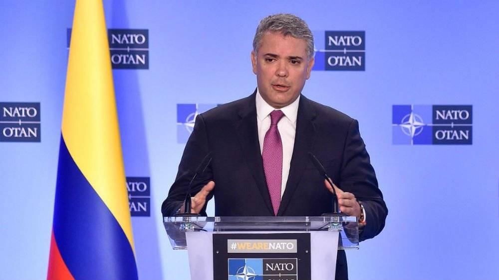 Iván Duque, presidente de Colombia Foto: Twitter @IvanDuque
