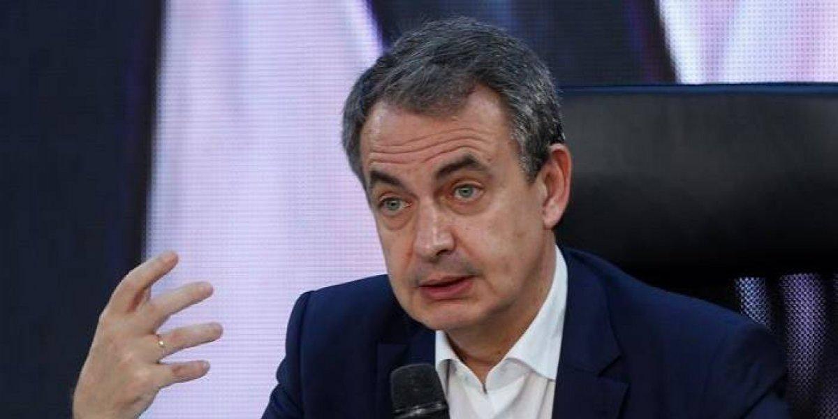 """Zapatero insiste en el diálogo como """"única vía"""" para la crisis venezolana"""