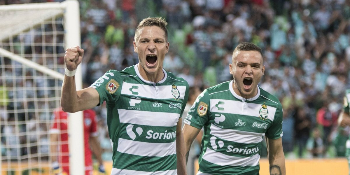 Julio Furch le da el triunfo a Santos y aseguran su lugar en la Liguilla