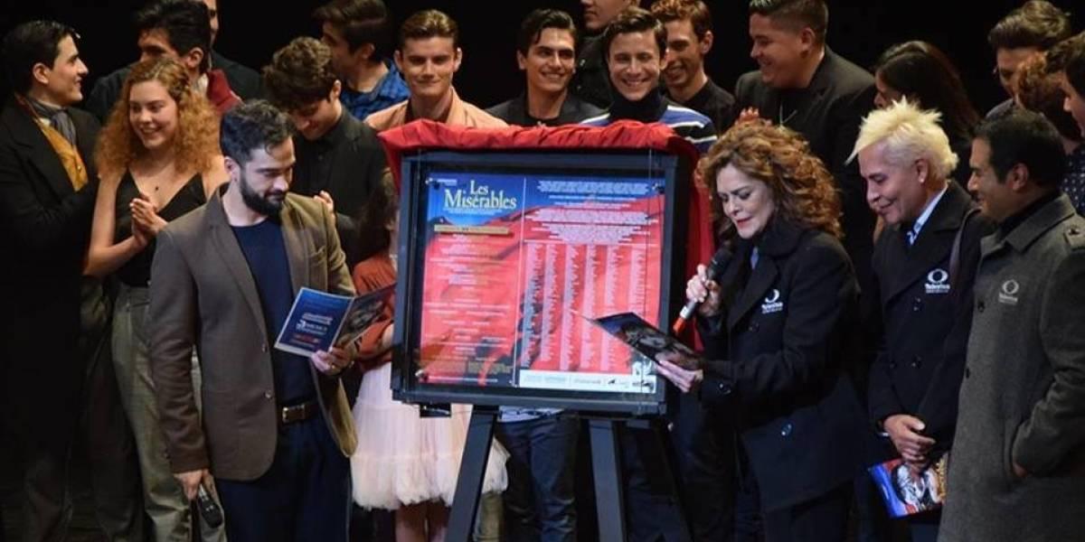 'Los Miserables' celebran 200 representaciones