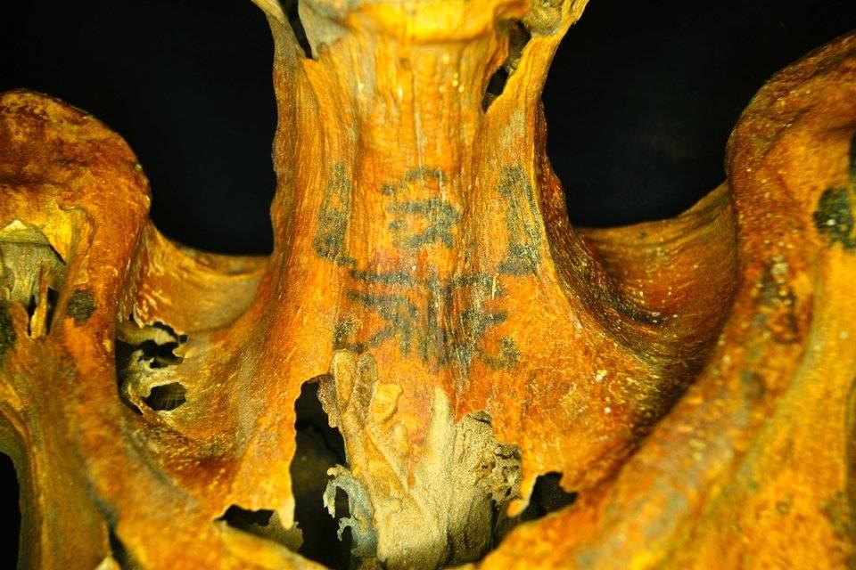 [Fotos] Descubren una momia con 30 tatuajes en su cuerpo: Â¡creen que fue una maga!