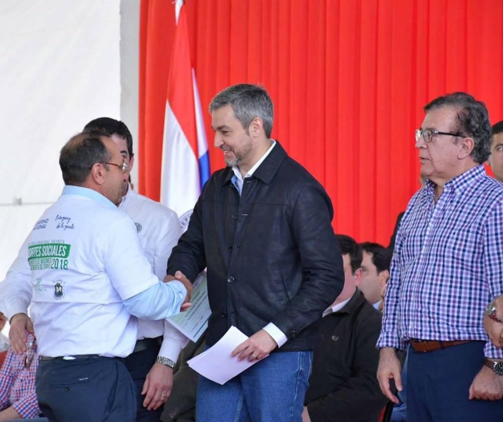 Mario Abdo Benítez, presidente Paraguay Foto: Twitter @MaritoAbdo