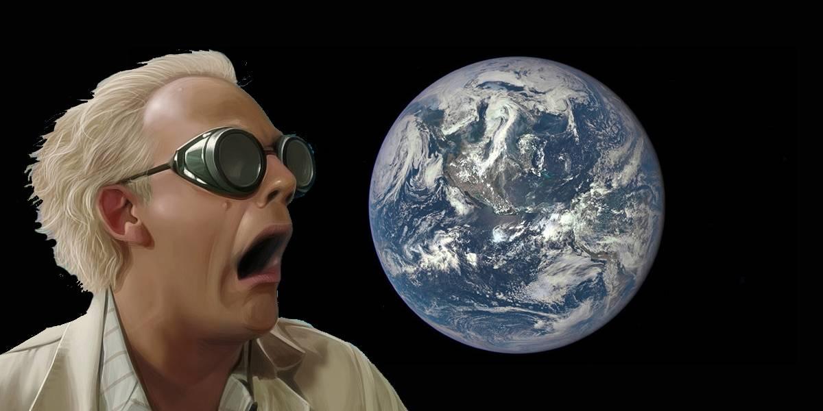 Así luce la Tierra a 43 millones de kilómetros de distancia