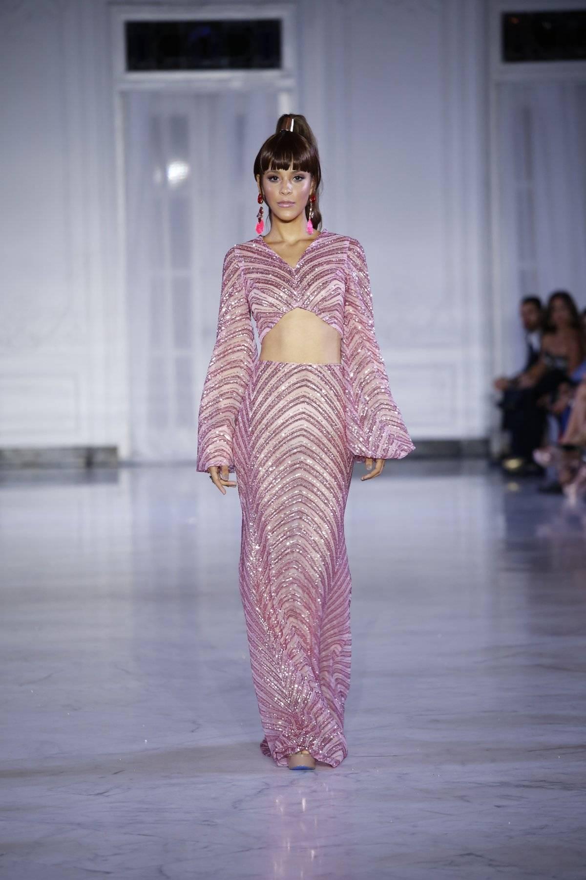 Colección primavera-verano 2019 I Drean of Jeannie, del diseñador Ángel Guzmán / Foto: San Juan Moda-Jessica Cristina
