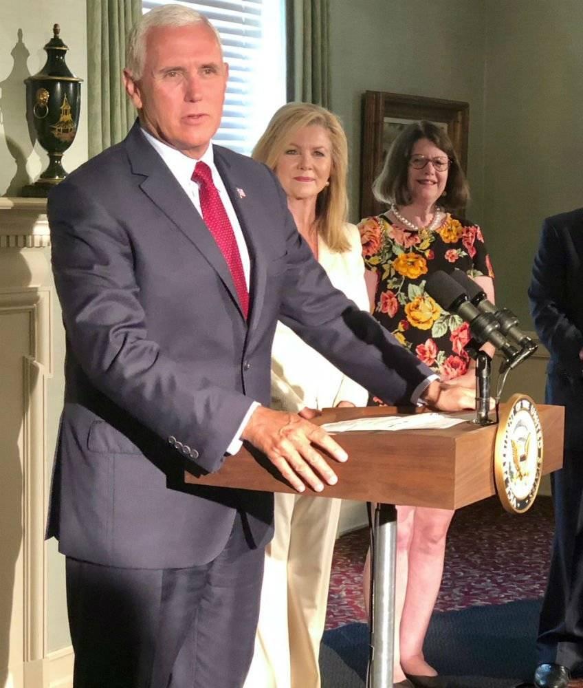 Michael R. Pence, vicepresidente de los Estados Unidos Foto: Twitter @mike_pence