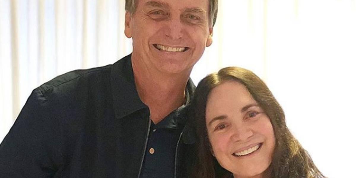 'Sou chamada de fascista', diz Regina Duarte sobre apoio a Bolsonaro