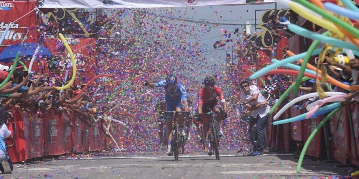 La Vuelta llegó al sur y el triunfo fue para un tulipán volador