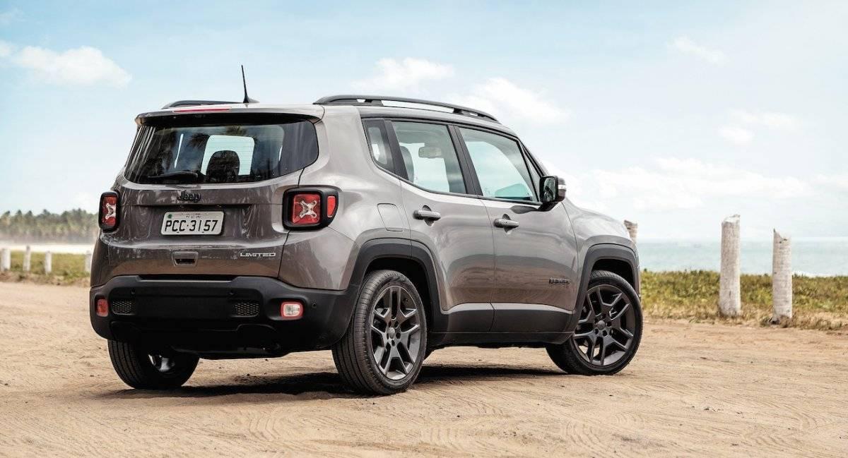 Jeep Renegade - Porta-malas ganhou mais espaço