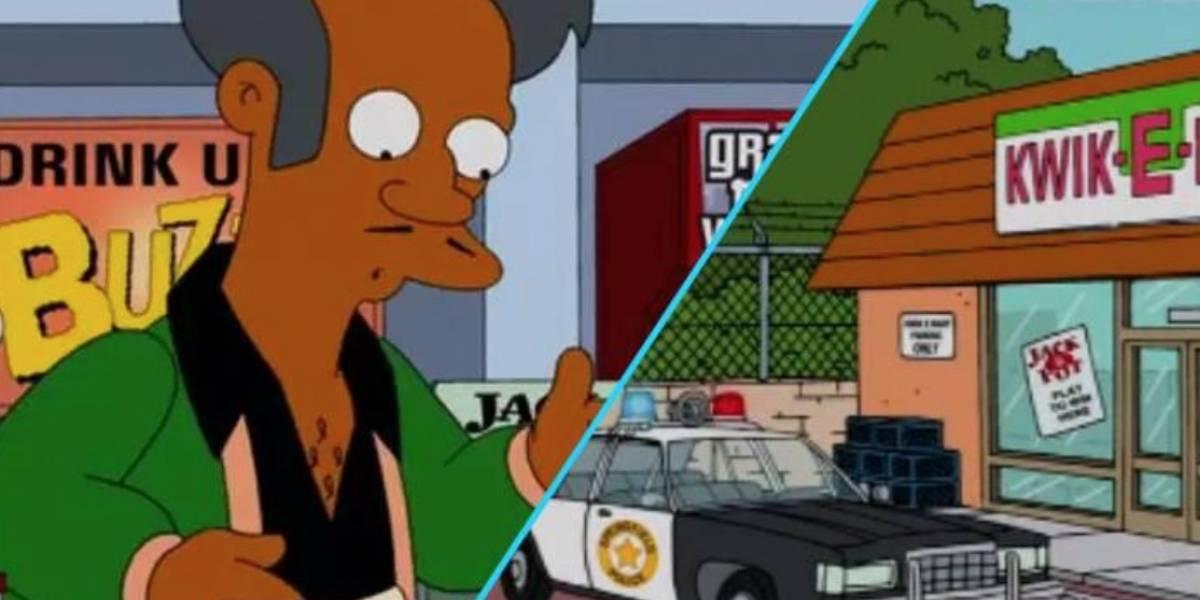 Eliminan personaje de Los Simpsons