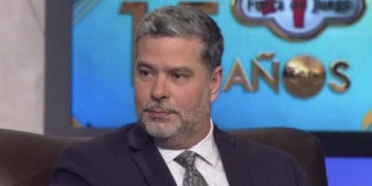 Comentarista de ESPN sufre accidente automovilístico