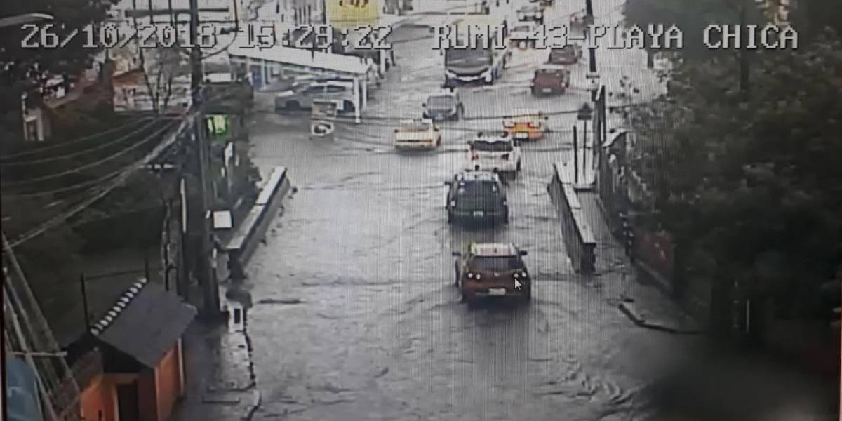 Quito: Lluvias y tormentas eléctricas para la tarde del viernes 26 de octubre, según el Inamhi