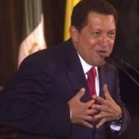Hugo Chávez en México