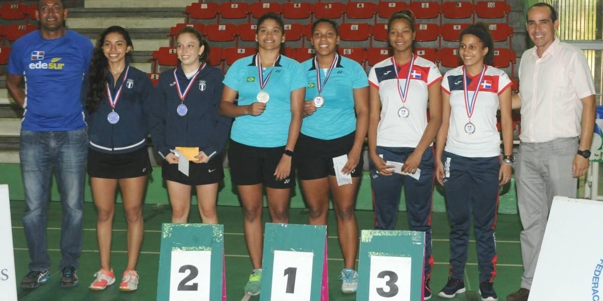 Brasil domina el Torneo Internacional de Bádminton Santo Domingo Open Superior