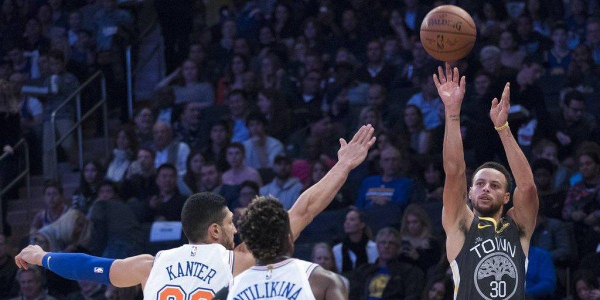 Golden State doblegó a Nueva York con 41 puntos de Kevin Durant