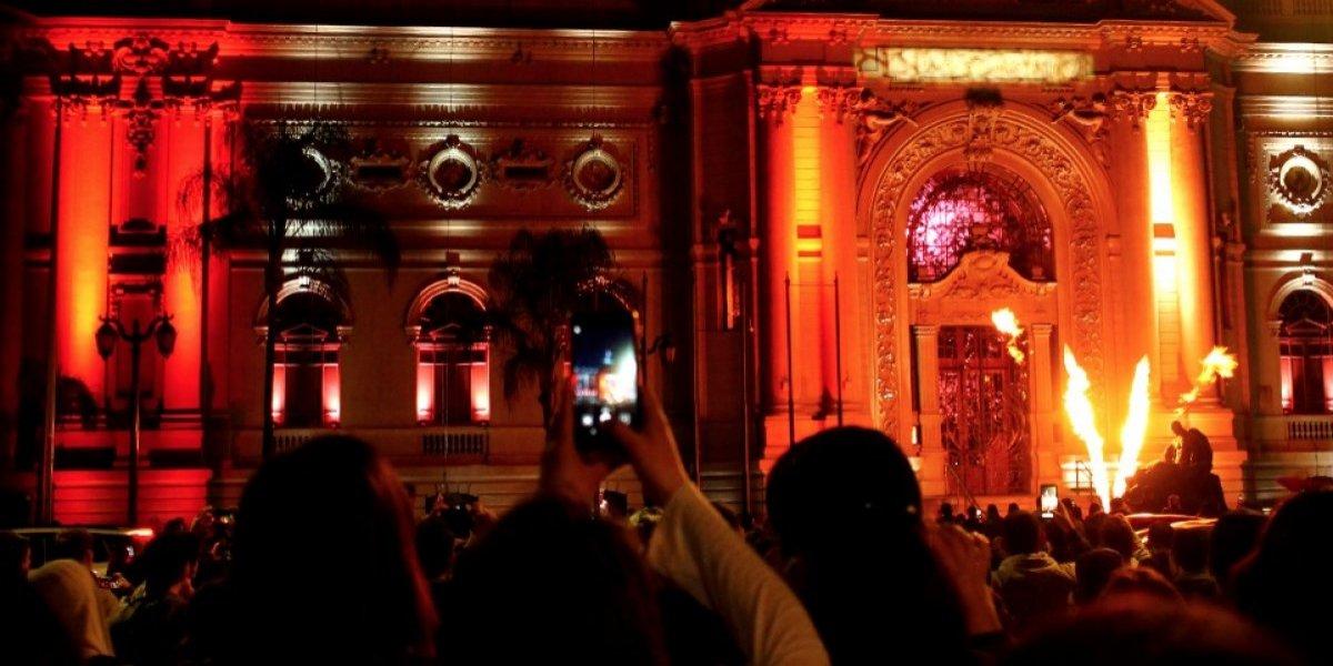 Último día: este sábado finaliza el show de luces que iluminó a Santiago y mira cómo se ven las fotos