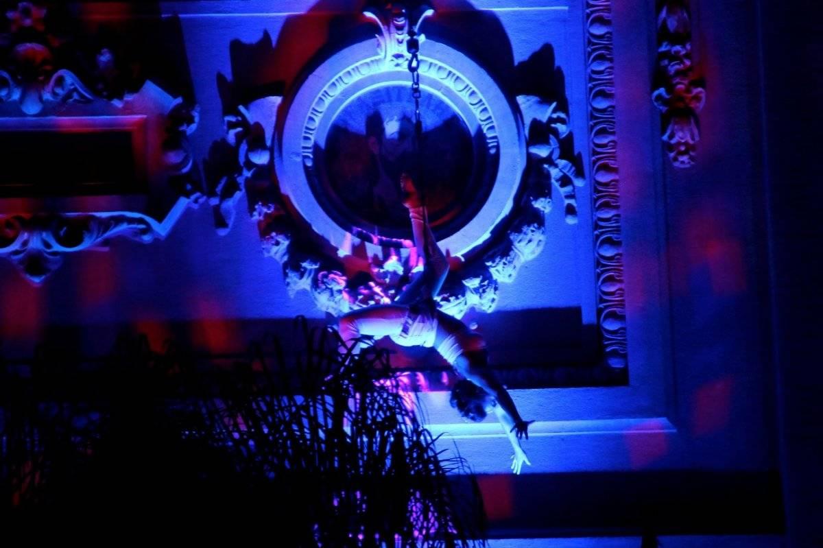 En Bellas Artes también hay danza aérea. Foto: Jaime Liencura / Publimetro