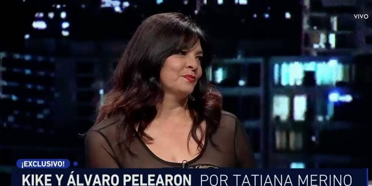 """Tatiana Merino a Kike Morandé: """"Lo que sea una pierna con falda, él se hace el lindo"""""""