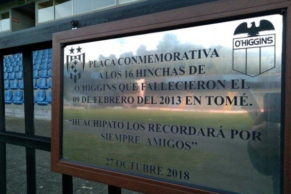 El gesto de Huachipato / imagen: Twitter O