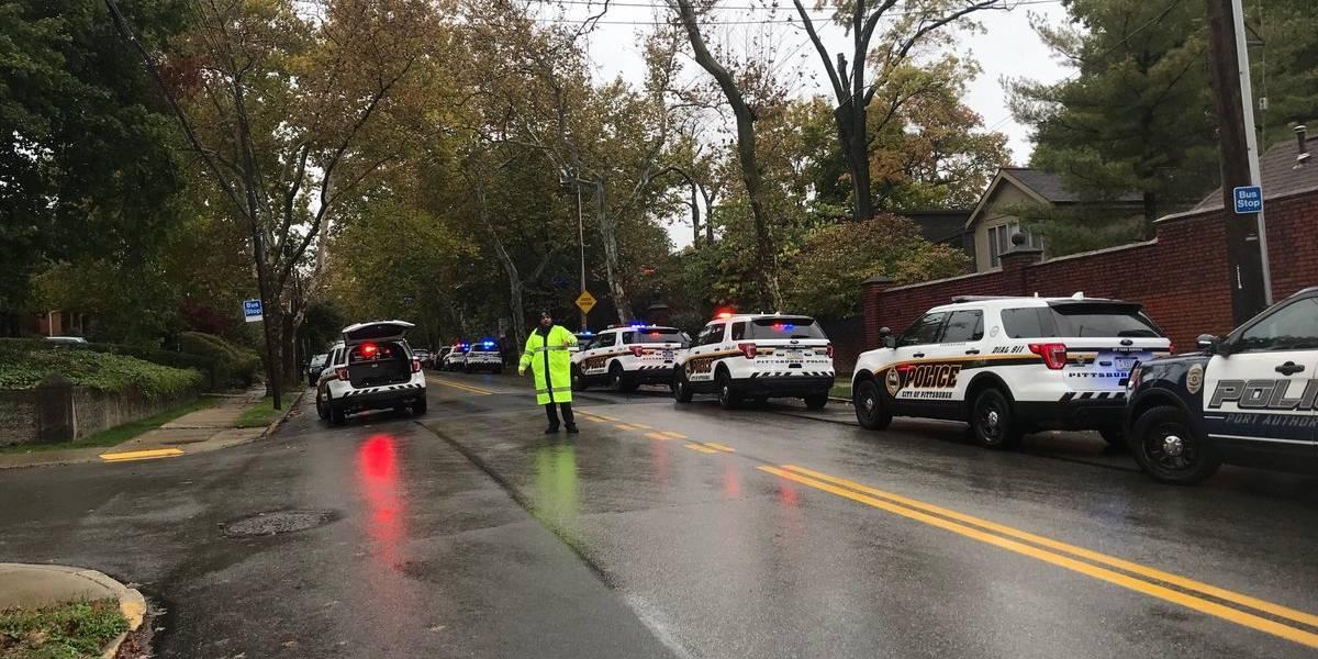 Varios muertos por un tiroteo en una sinagoga de Pittsburgh (Estados Unidos)