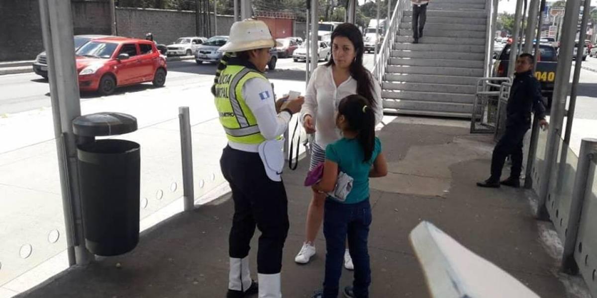 PGN busca a familiares de niña que fue abandonada en el Transmetro