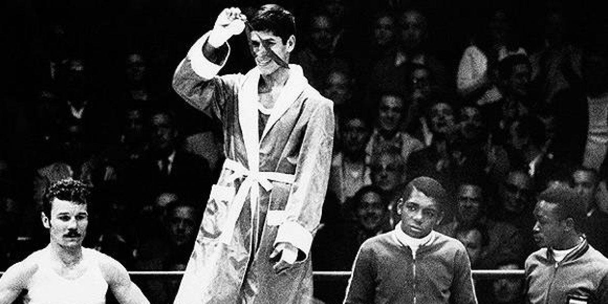 Rinden homenaje al primer boxeador mexicano que ganó oro en México 68