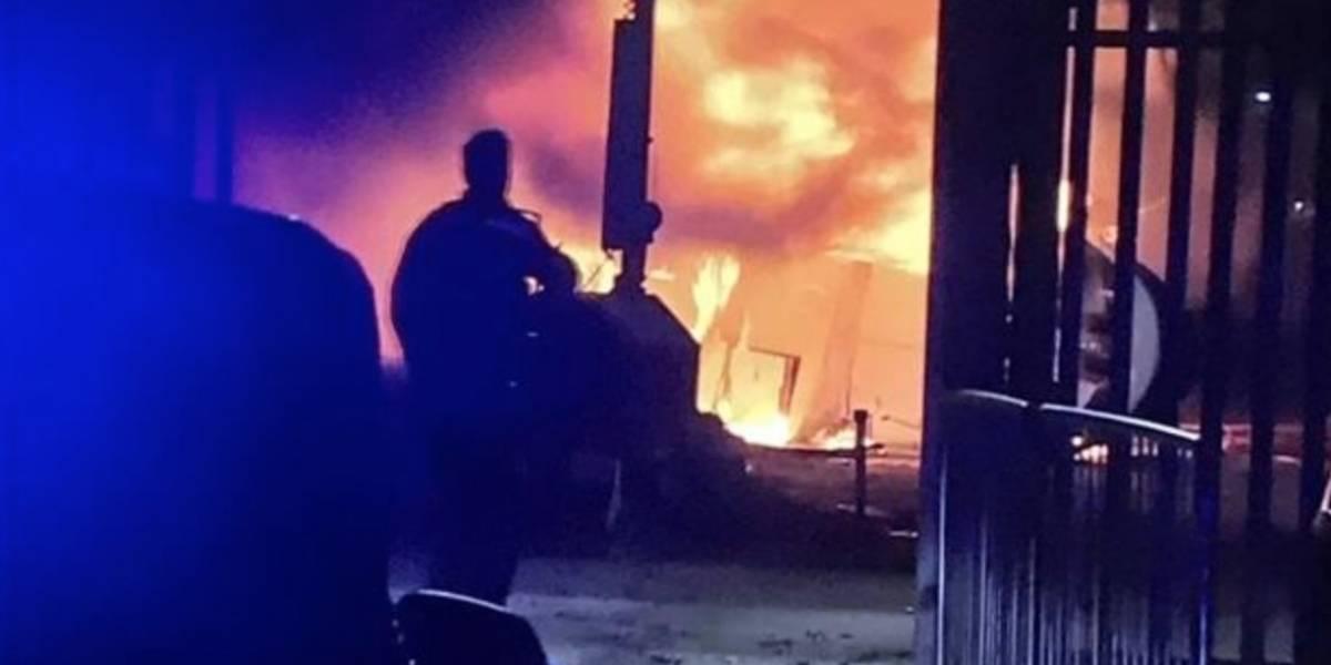 Se estrelló el helicóptero del dueño del Leicester
