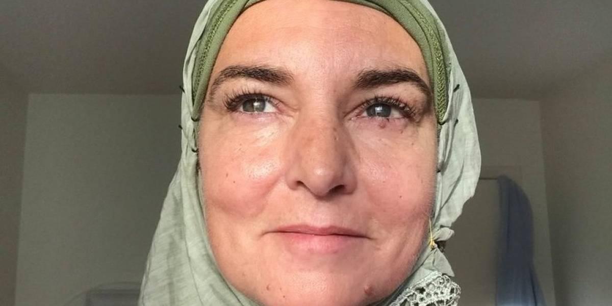 """A trajetória da cantora pop Sinéad O""""Connor, recém-convertida ao islã"""