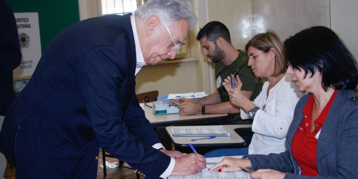 Internautas especulam voto de FHC em Haddad e França; veja reações