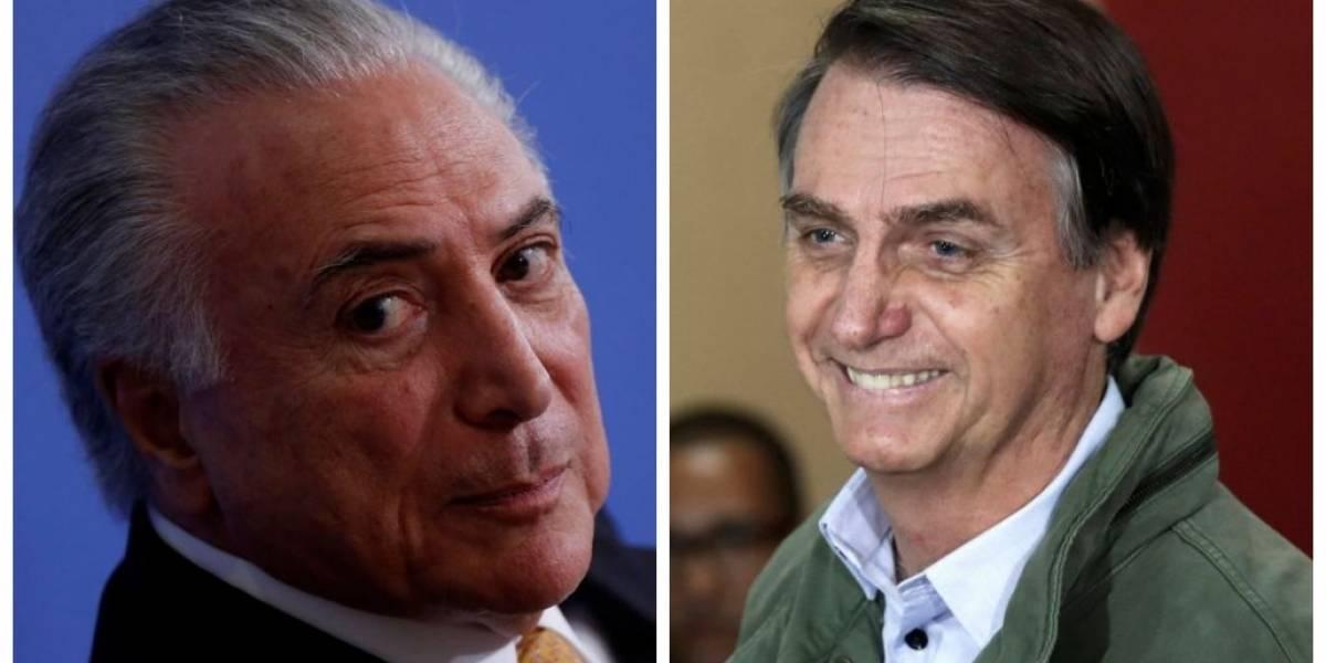 Quatro ministros de Bolsonaro tiveram ou têm cargos no governo Temer