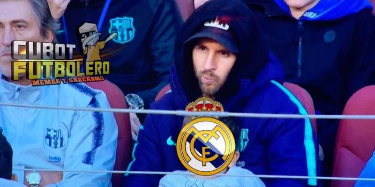 Los memes de la goleada del Barcelona sobre el Real Madrid
