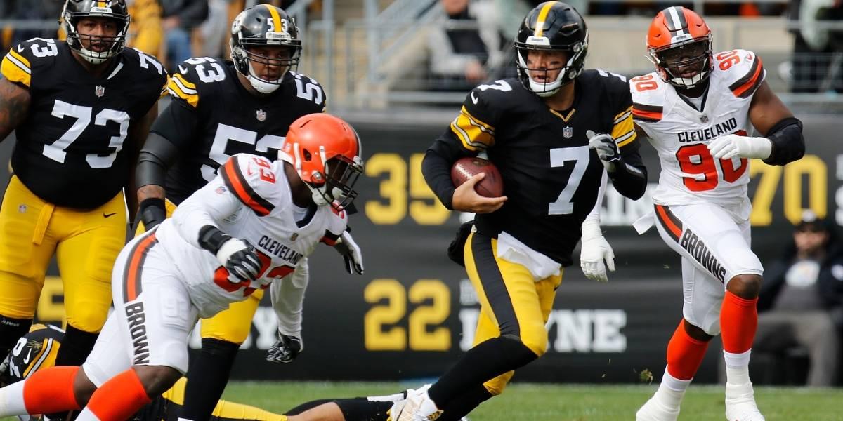Ben Roethlisberger lidera victoria de Steelers