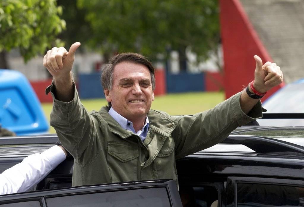Jair Bolsonaro, candidato a la presidencia de Brasil Foto: AP