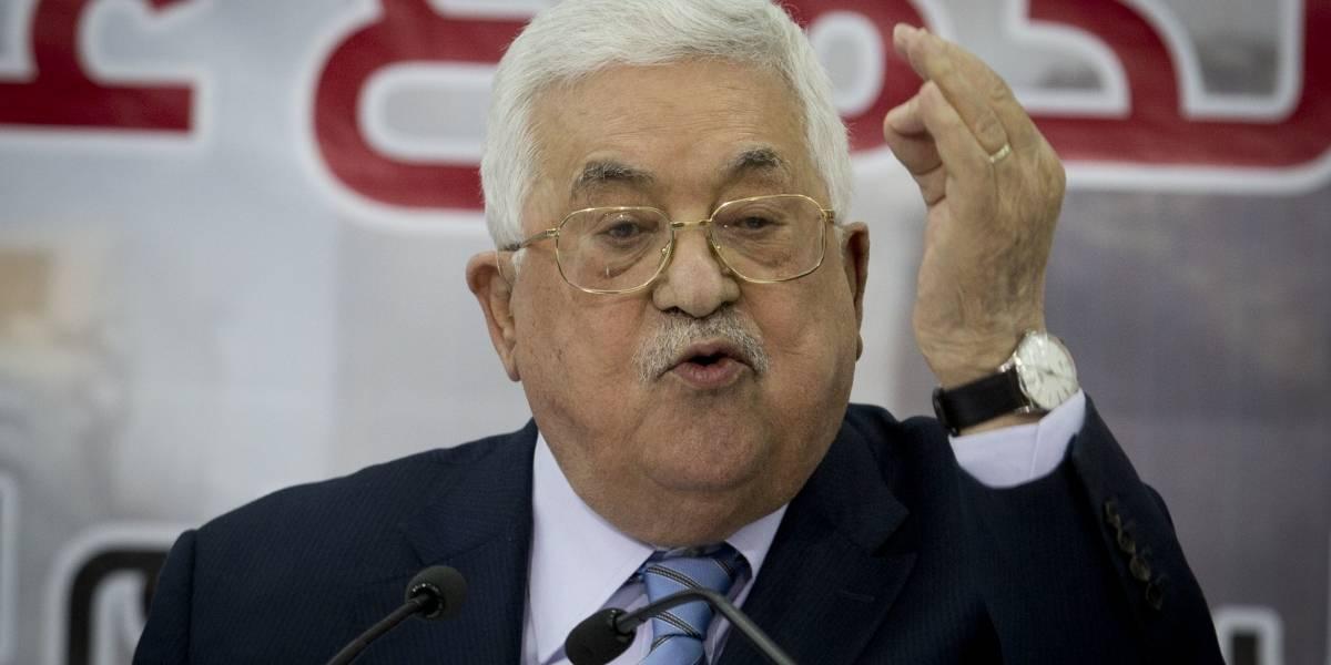 Presidente palestino acusa a Hamas de servir a los intereses de EEUU