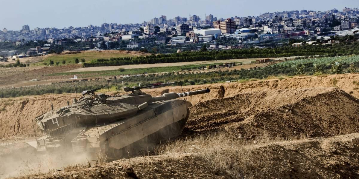 Mueren tres jóvenes palestinos en bombardeo israelí