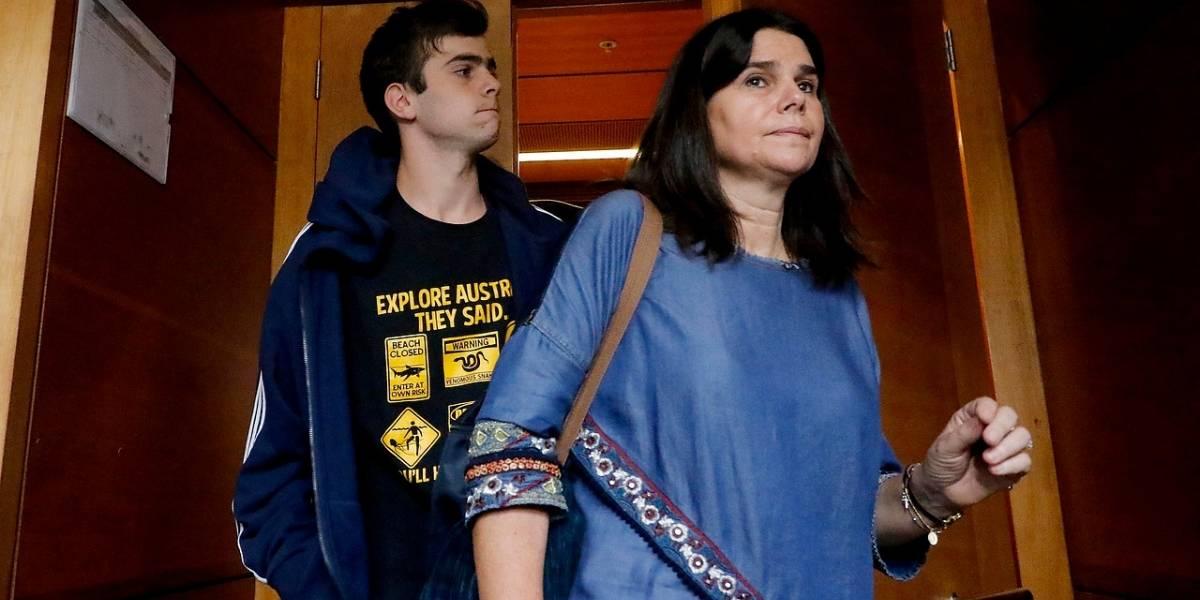 Tras ser llevado por su propia madre a la comisaría: hijo de la diputada Ossandón quedó con prohibición de acercarse al joven que golpeó en Vitacura