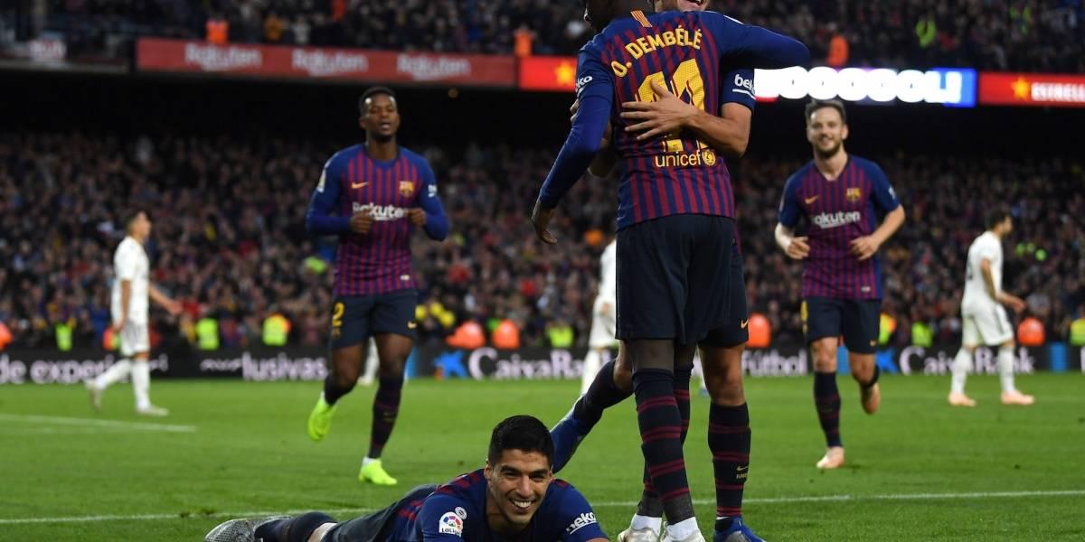 Barcelona arrolla a un Madrid vergonzoso con un contundente 5-1