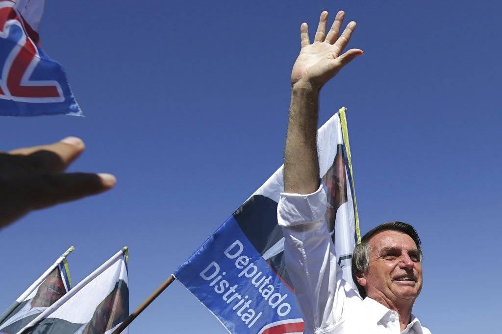 Jair Bolsonaro, candidato de extrema derecha Foto: AP